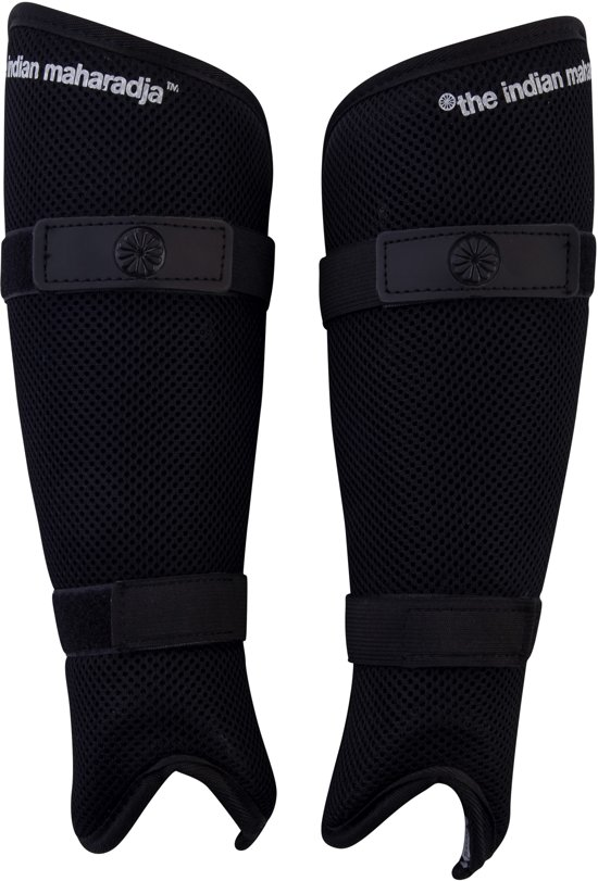 The Indian Maharadja Shinguard senior mesh-M Scheenbeschermer Unisex - zwart