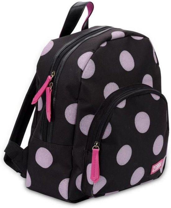 8d994b2faf2 bol.com | Zebra Trends Girls Rugzak Glitter Dots Soft Pink