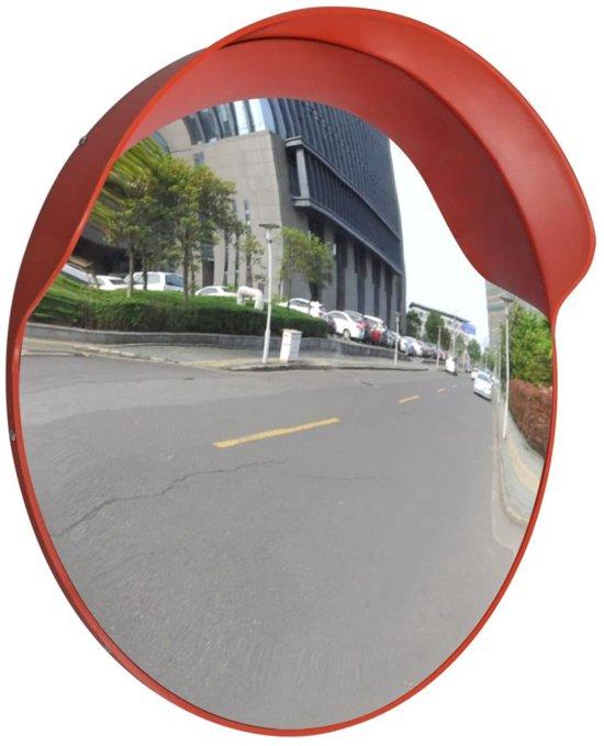 vidaXL Verkeersspiegel voor buiten 60 cm (oranje)