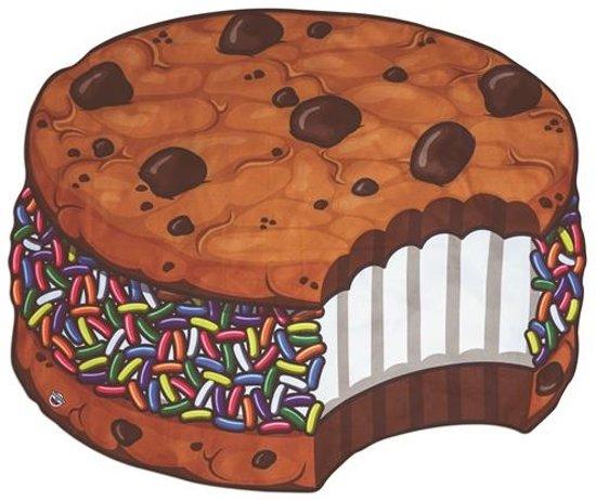 a73e89e905e bol.com | Strandlaken Ice Cream Cookie 1,5 meter, BigMouth | Speelgoed