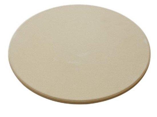 """4cookz - Universele pizzasteen voor Kamado BBQ - 33 cm - voor 21"""" of groter"""