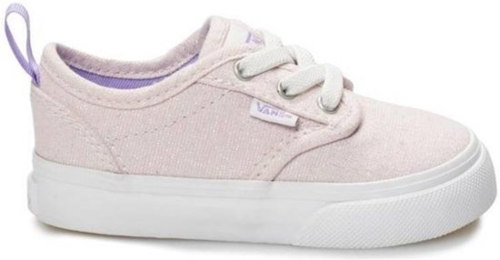 e532abec35d Vans TD Atwood Slip On Z lichtroze glitters sneakers baby