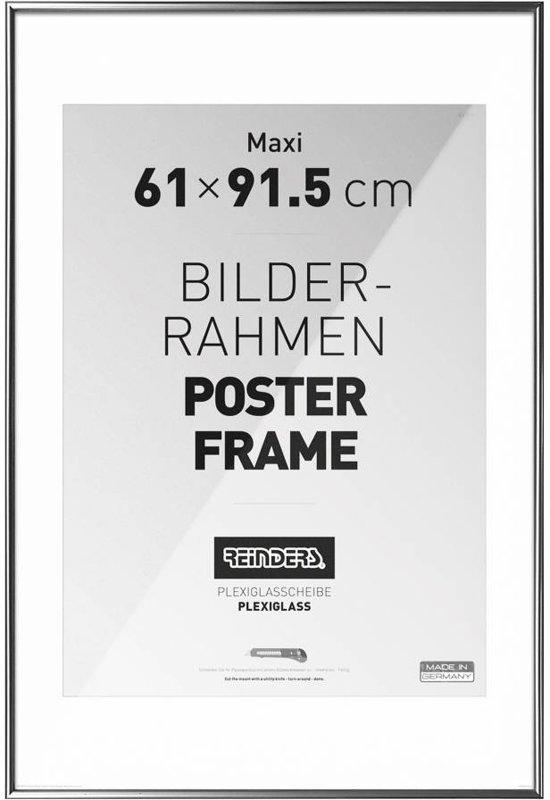Lijst 61 X 91.Reinders Wissellijst Voor Posters 61x91 5 Cm Zilver
