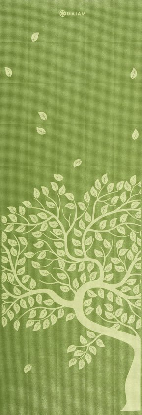 Gaiam Fitness- / Yogamat - 3 mm - Tree of Life