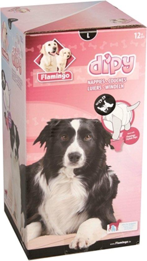 Hondenluiers dipy 12 st.-L