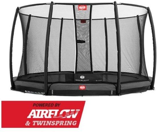 BERG Champion InGround Trampoline à 270 cm met Veiligheidsnet Comfort