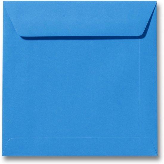 Envelop 19 x 19 Koningsblauw, 100 stuks