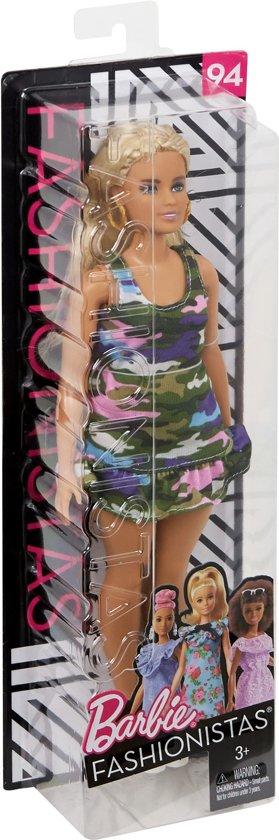 Barbie Fashionistas Girly Camo - Curvy - Barbiepop