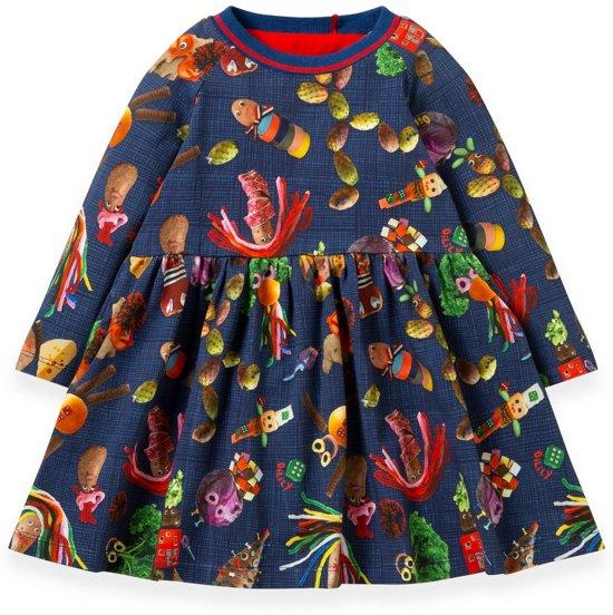 Twarrels jersey jurk
