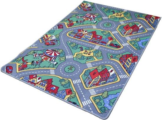 Tapijtkeuze Speelmat Raduno - 140x200 cm - Verkeerskleed