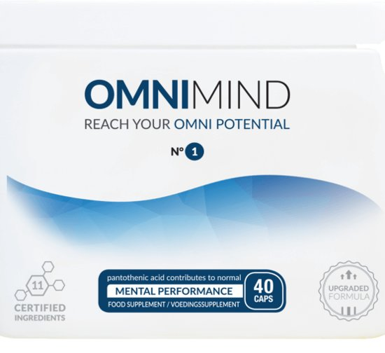 Omnimind -Reach your potential N1  - 40 Caps