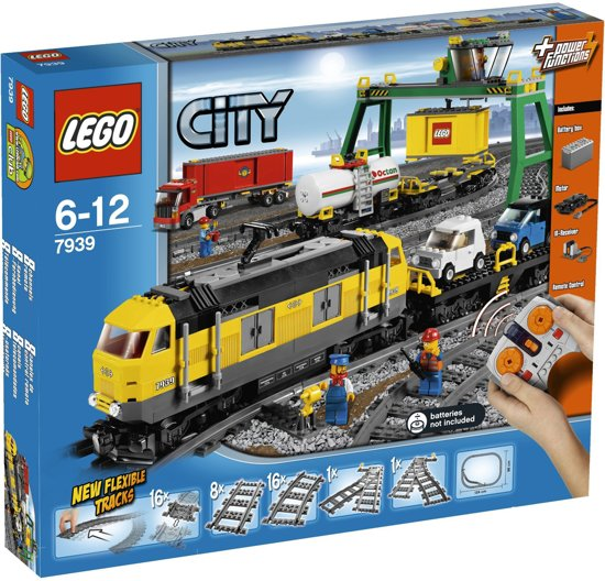 LEGO City Vrachttrein - 7939