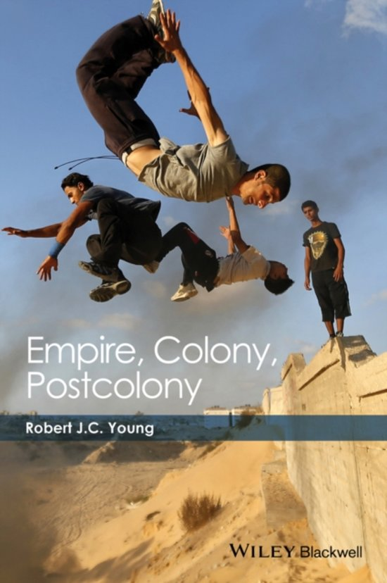 Boek cover Empire, Colony, Postcolony van Robert J. C. Young (Paperback)