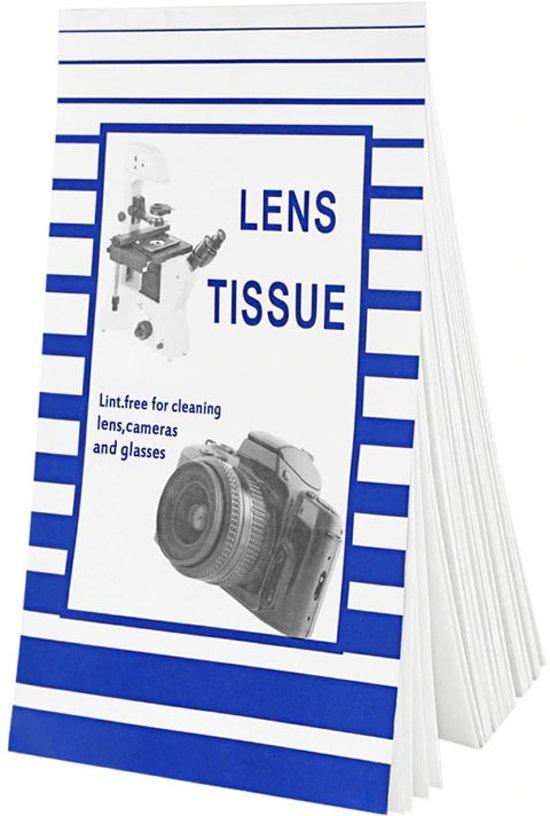 Prof tissue lens papier voor lens schoonmaken for Camera schoonmaken