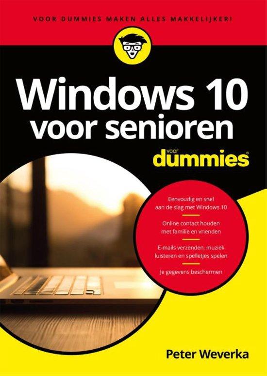 Windows 10 voor senioren voor Dummies