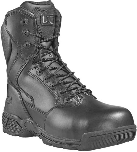 Magnum Stealth Force 8.0 Leer S3 CT CP Zwart Legerkisten Uniseks
