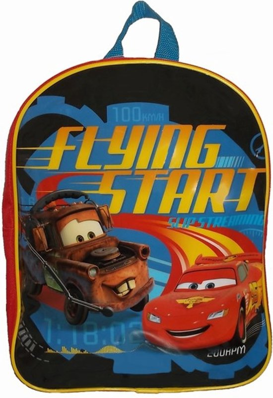aef5ad2a398 bol.com | Disney Cars Rugzak - Flying Start 26 x 10 x 31cm.