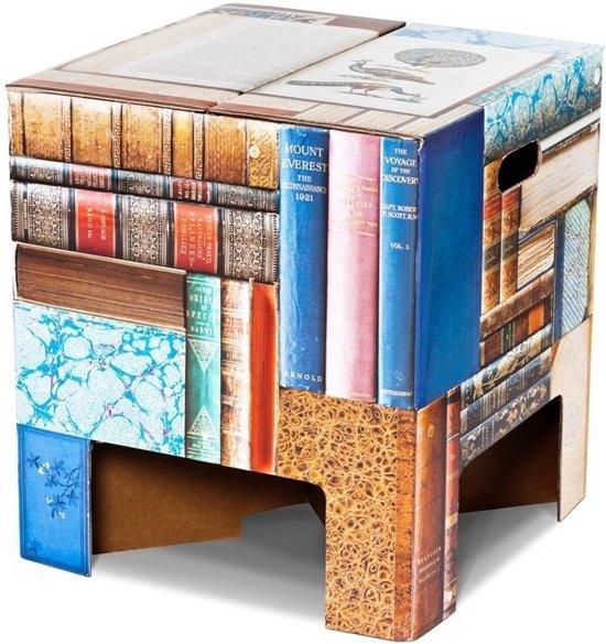 Dutch Design Brand kartonnen krukje - Uitvoering - Boeken - Books