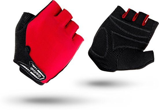 GripGrab - X-Trainer Jr. - Kinderhandschoen - Rood - Maat L