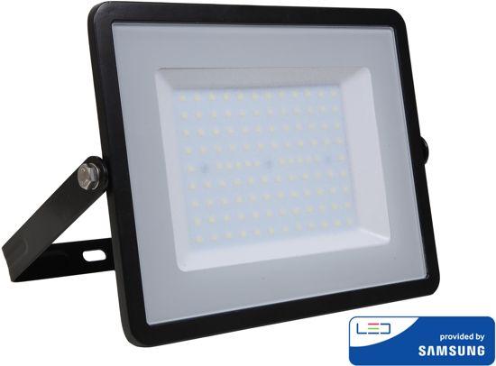 Samsung by V-tac VT-100-B LED schijnwerper - 100 W - 8000 Lumen - 4000K - zwart
