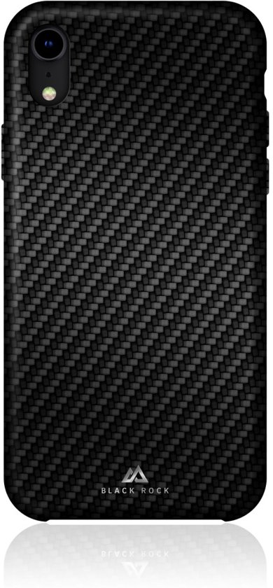 """""""Black Rock Cover """"""""Flex Carbon"""""""" voor Apple iPhone Xr, Zwart"""""""