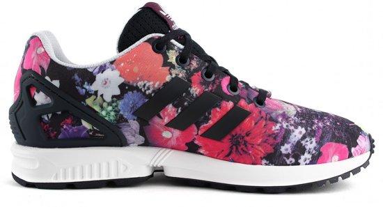 15dd2c2ec88 bol.com | Adidas Originals ZX Flux Paars S74959 Bloemen