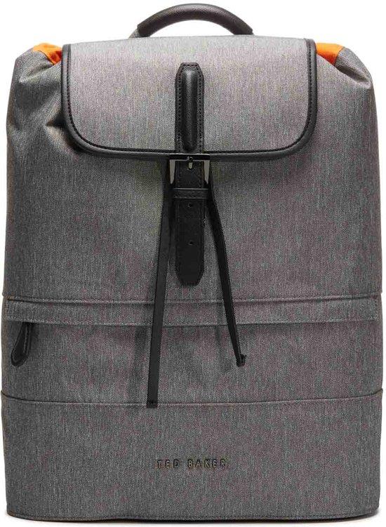 a408da1e05bdd6 Ted Baker Rayman Nylon Backpack Grey Rugzak 141737 (Inhoud  18L)