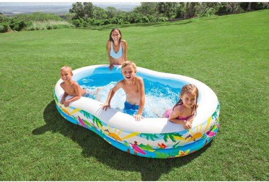 Intex Strandvriendjes opblaaszwembad (met reparatiesetje)