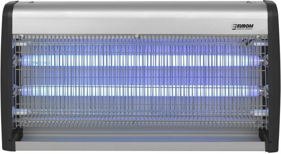 Eurom  Fly Away 40-2 Insectenlamp - vliegendoder - 2x20 Watt UV - 200m²