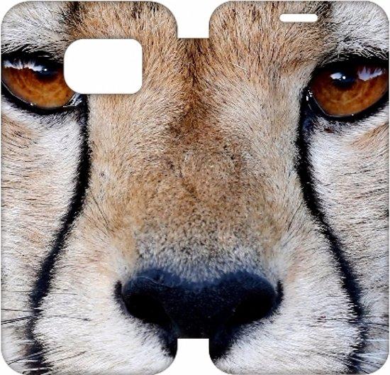Samsung Galaxy S7 Edge Uniek Hoesje Cheetah in Brigdamme