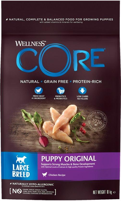 Wellness Core Large Breed Puppy Kalkoen&Kip 10 kg