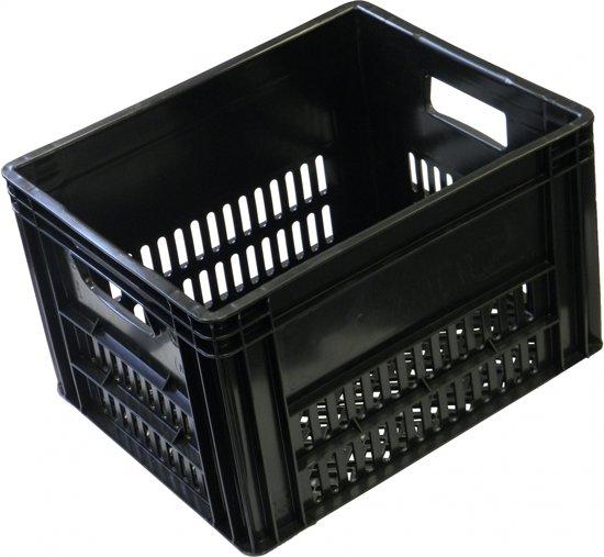 Vwp Fietskrat - Kunsstof - 40 liter - Zwart