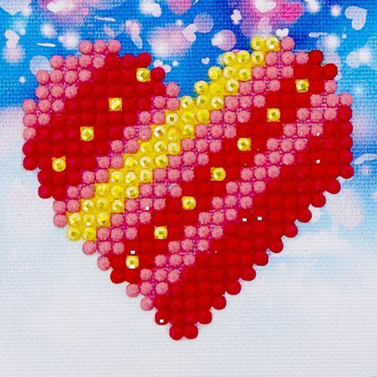 Diamond Dotz ® Patchwork Heart (7.6x7.6 cm)