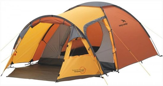 Easy Camp Eclipse 300 - Koepeltent - 3-Persoons - Oranje
