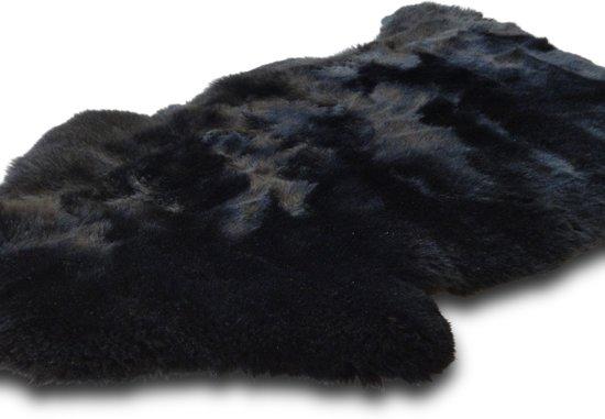 Schapenvacht - zwart geverfd (Europees)