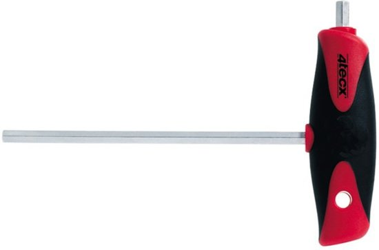 4Tecx Inbussleutel 2,5mm 100mm Vlindergreep