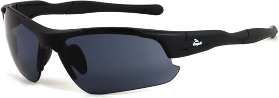 Rogelli Raptor Fietsbril - Heren - Een maat - Zwart