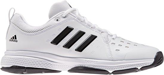 08a18896cff adidas Barricade Classic Bounce Tennisschoenen - Maat 44 - Mannen - wit/ zwart