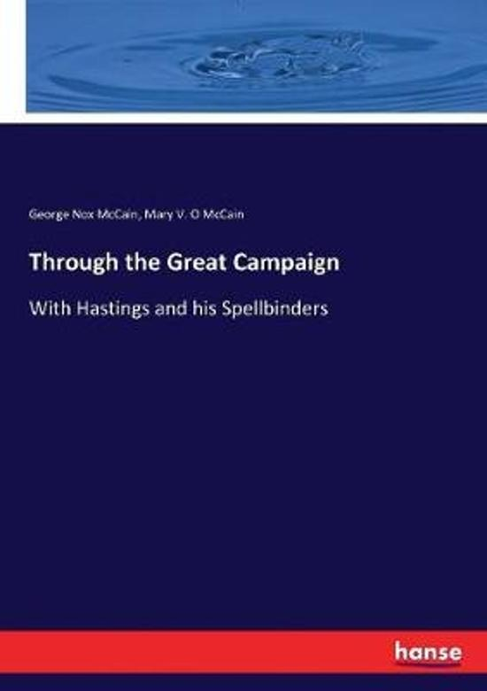 Through the Great Campaign