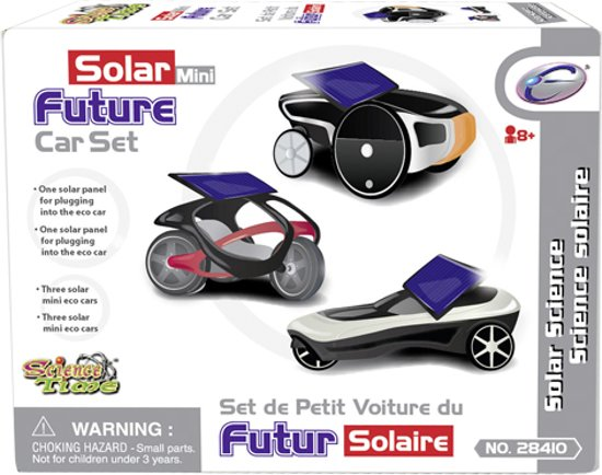 Bolcom Solar Future Car Set Solar Speelgoed