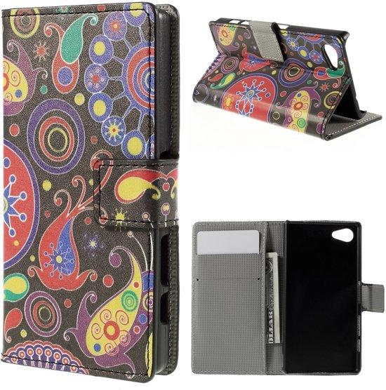 Sony Xperia Z5 Compact Hoesje Vormen met Opbergvakjes in Vollenhove