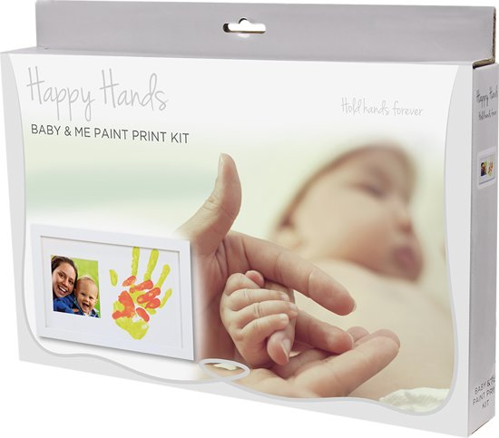 Happy Hands - Baby & Me Paint Print Kit