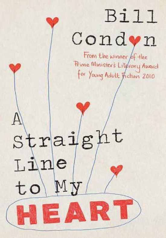Boek cover A Straight Line to My Heart van Bill Condon (Onbekend)