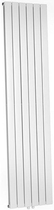 Designradiator Millennium Dubbel 200x45cm 1461 Watt Mat Wit middenonderaansluiting