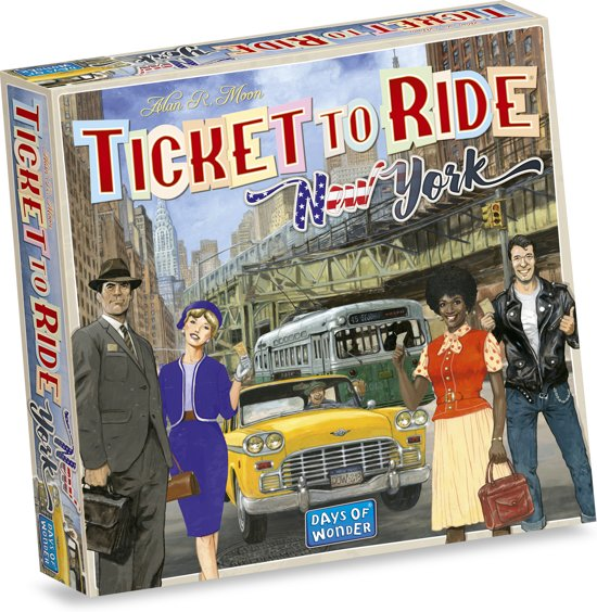 Afbeelding van Ticket to Ride New York - Bordspel speelgoed