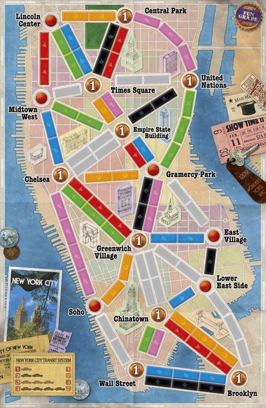 Ticket to Ride New York - Bordspel