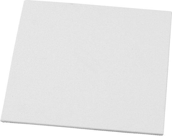 Canvas Paneel, afm 15x15 cm, 10 stuks