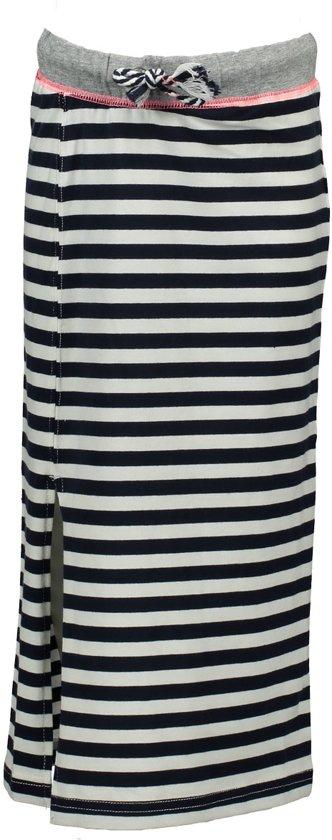 Bampidano Meisjes Rok - stripe navy - Maat 122/128