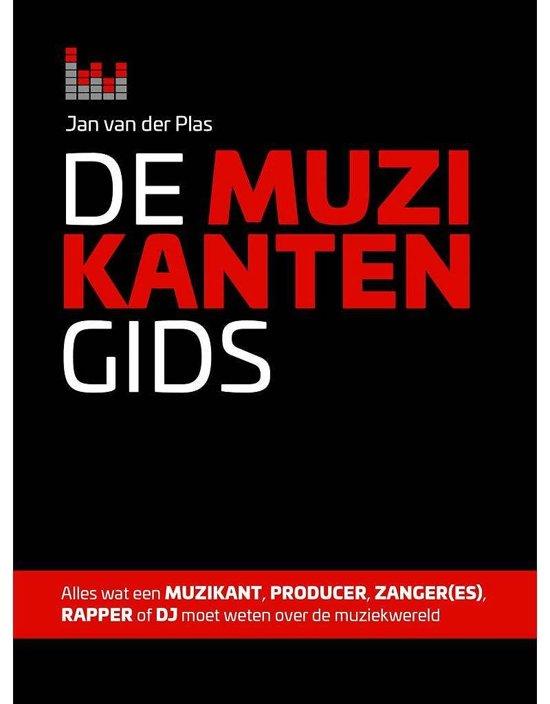 Boek cover De Muzikantengids van Jan van der Plas (Hardcover)