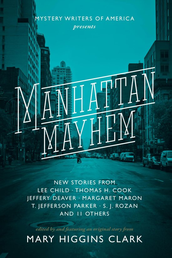 Boek cover Manhattan Mayhem van Lee Child (Onbekend)